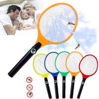 Wholesale US Dispatch Cordless Rechargeable Bug Zapper Mosquito Insect Electric Fly Swatter Racket Big US plug