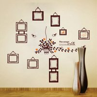 abstract photo art - Photo Frame Family Tree Wall Sticker Wall papers Photoframe Stickers on a Decorative Wall Decal for Kids Rooms Children Home Decoration