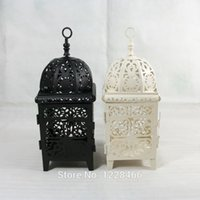 Metal wrought iron - metal candelabra wrought iron lanterns wedding jewelry gifts retro home decoration tealight holder Europe