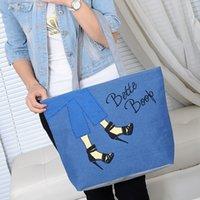 les femmes de toile un sac à bandoulière imprimé mode haut talon sac porte-loisirs momie sac fourre-tout femelle 5 couleurs disponibles