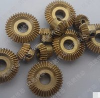 Wholesale 0 M T Speed ratio Precision mini copper bevel gear inner hole mm mm