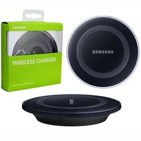 Wholesale Samsung Pad Type QI Standard Wireless Charger Charging Pad EP PG920I For Samsung Galaxy S6 S6 Edge Wireless Chargers
