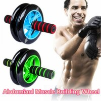 Wholesale Body fitness training abdominal muscle arm strength building wheel roller home exercise equipment Russia