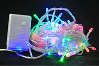 Wholesale Super Multicolors M LED String Lights Wedding Decoration Lights LED Christmas Light V displays Party Decor Light