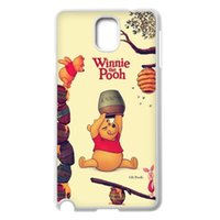 Wholesale New Arrive Winnie the Pooh Love The Honey Cute customize fashion For Samsung S3 S4 S5 Note2 Note3 Hard Plastic cover back Case