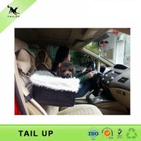 Wholesale Pet Booster Seat Easy Car Seat For Dog Pet Carrier Travel Box Lining Chair