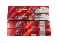 Wholesale 4 pack DHS star Table tennis ball pingpong balls white pack