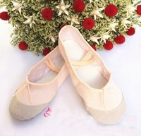 Wholesale Ballet Dance Shoes For Girls Boys And Adult Ladies And Children Soft Sole Comfortable Size22 Actual Length Available choose Size ZJ16 S03