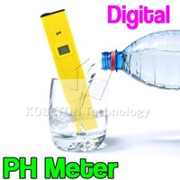 Wholesale Pocket Pen Water PH Range Measure Meter Tester Digital Tester PH IA pH Acidity for Aquarium Pool Water Laboratory