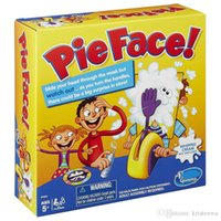 Wholesale 60pcs Parent child games Korea Running Man Pie Face Game new Children Novelty interest paternity toys