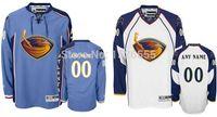 atlanta thrashers - Atlanta Thrashers Personalized Customize Mens Women Youth Stitched Premier With any Name any Number Ice Hockey jersey