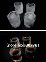 Wholesale 2015 Top Fashion Silicone Pasta Machine New Arrive Piece Cup Ice Mold Glass Shot Glasses Made Of Novelty Gift