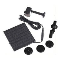 Wholesale Solar Pump For Water Cycle Pond Fountain Rockery Fountain H4009 freeshipping