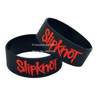 alternative day - Slipknot Silicone Wristband A Great Alternative Style Bracelet For New Wave Of American Heavy Metal Adult Size