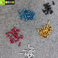 aluminum wire nuts - Sle multicolour spoke cap aluminum alloy wire spokion cap steel wire cap lines nut g spokes