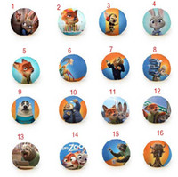Wholesale Zootopia circular Hold pillow soft Plush Toy Judy Hopps Nick Wilde PP Cotton Pillow styles cm EMS shipping C623