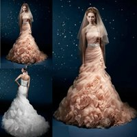 satin sash ribbon - Luxury Prom Dresses Mermaid Vestido De Noiva Stunning Cascading Ruffles Long Evening Gowns Unique Designer Bridal Best Women Prom Dress