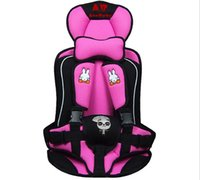 Wholesale Baby Car safety Seat Child Safety Seat portable Safety Car Seat for Baby KG and Months Years Old Blue pink auto accessories