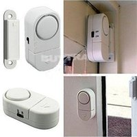 Wholesale 201 New Novetly Wireless Home Security Door Window Entry Alarm Warning System Magnetic Sensor