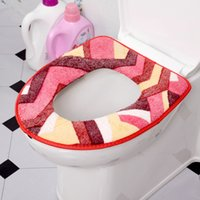 Wholesale Hot Sales Toilet Cover Seat Lid Pad O Shape Washable Toilet Cover Pad Bathroom Products Warmer Closestool Cover Mat JI0011 Kevinstyle
