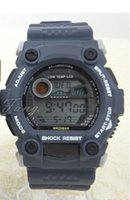 Pin buckle military - mix color DW6900 fashion DW sports watch electronic neutral DW watch Wristwatches