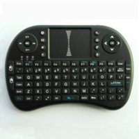 Wholesale 2 GHz mini wireless keyboard Portable mini keyboard Rii Mini i8 Wireless Keyboard with Touchpad for PC Pad Google Andriod TV Box