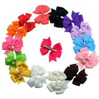 baby services - 15Colors Cheap Cute Girls Head Pieces Baby Bow Hair Clips OEM Service Factory Sell Bowknot Children Hair Accessories