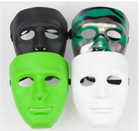 Wholesale Halloween mask Plastic ball mask Bboy hip hop JabbaWo mask dance Party Mask Shuffle Dance Mask Costume Party Mask