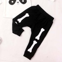 baby boy skull clothing - Children Casual Pants Boys Girls Casual Wear Baby Pants Spring Autumn Skull Casual Trousers Child Clothes Kids Clothing Lovekiss C22100