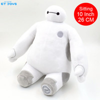 Wholesale Retail Inch CM Big Hero Baymax Robot Plush Toys Sit Posture Super Marines Baymax Stuffed Plush Animals Toys Vacation Gift for Kids