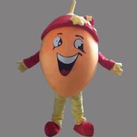 al por mayor vestido de la fruta de naranja-Nuevo vestido de lujo anaranjado estupendo del traje de la mascota de la naranja de la fruta EPE