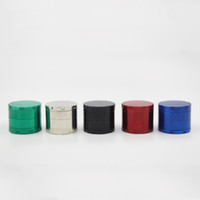 Wholesale Multi Colors Grinder Piece mm SharpStone Herb Grinder Zinc Alloy Smoking Grinder CNC Teeth Herbal Grinder Tobacco Grinder mm parts