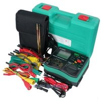 Wholesale HOMSECUR Earth Ground Resistance Insulation Phase Sequence Ac600V Lcd Tester Meter