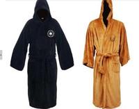 Cheap Hot vente Star Wars Darth Vader molleton Terry Jedi peignoir adulte Robes Halloween Cosplay Costume pour hommes vêtements de nuit