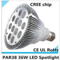 ac factory store - Factory Sale led spotlight par38 led bulb W LED chip AC V V Lm indoor light store light warm white cold white