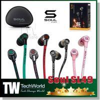Wholesale Brand NEW For iPhone S SOUL by Ludacris SL49 RB Ultra Dynamic In Ear Headphones SL49GB In Ear Earphone Headset Headphone
