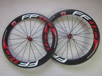 Wholesale Fast Forward FFWD F6R Road Bicycle Clincher Carbon Wheels Carbon Bike Wheelset Front and Rear Wheel mm depth mm width s K glossy