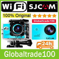 used bicycles - Original SJ4000 SJCAM Gopro Waterproof Cameras Helmet Sports DV Car Recorder P Camcorders MP Diving Bicycle Action Camera