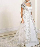 Wholesale New Long Sleeve Lace Coat Wraps Jackets Bride s Wedding Lace Coats With train
