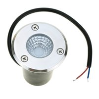 Wholesale Buried Lamp LED Underground Lamp W AC85 V COB LED Inground Light IP67 Warm White White Red Green Blue LED Underground Light order lt no