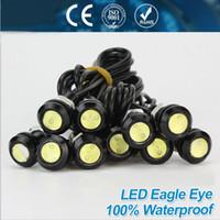 led drl - High brightness DRL Eagle Eye Daytime Running Light LED Car work Lights Source Waterproof Parking lamp