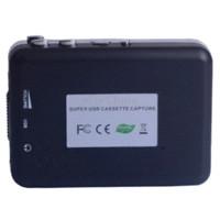 Wholesale New Arrival USB Stereo Cassette Capture Cassette to MP3 Converter Cassette Recorder amp Player