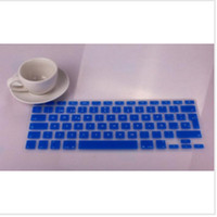 Wholesale hot Silicone Spanish Keyboard cover For Macbook Air Pro Protector for Mac book keyboard Spanish Spain EU