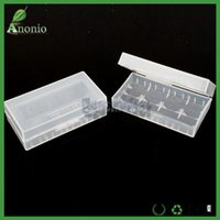 plastic storage container - Battery Holder E cigs Plastic Battery Case Box Holder Storage Container pack or Batteries Storager Container