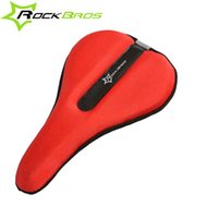 Wholesale MTB Lycra Nylon Gel Bicycle Saddle Cover Mountain Road Bike Seat Cushion Soft Cycling Gel Seat D Pad Saddle Cover