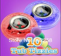 Cheap Wholesale-New item high quality 30pcs lot Party in the tub light bathtub light-up toy Waterproof Led Light Toy PreTeens Bath Tub Tizzies