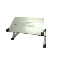 Wholesale Portable Laptop Desk Notebook Stand Table whit mouse holder Silver