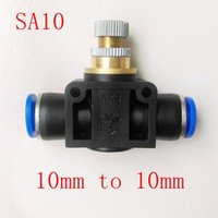 Wholesale 5pcs Pneumatic Air Fitting mm to mm Flow Speed Control Valve SA
