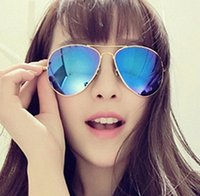 Wholesale 2015 fashion sunglasses men women brand designer frog mirror sports sunglasses classic outdoor spectacles