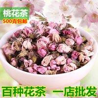 Wholesale Peach tea dried peach blossom peach blossom involucres tea premium natural peach dried flowers food drinking g